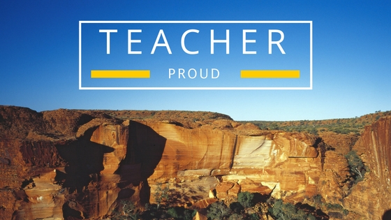 More than 70,000 hours of teaching in 821 words. Yes, I am Teacher Proud! Should we all not be?