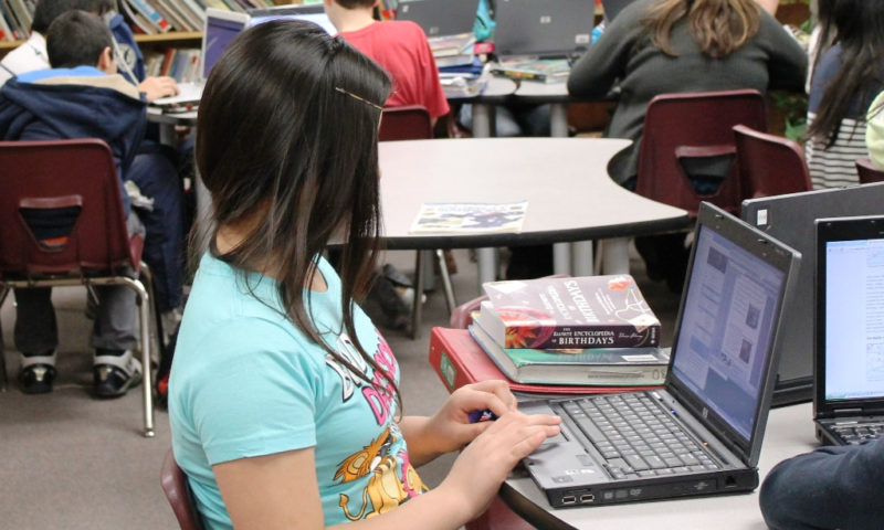 How does blogging help to develop writing skills?